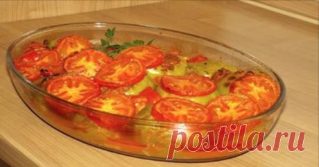 Вкусное, неимоверно сочное и очень сытное блюдо: перец, фаршированный с рисом по-хорватски