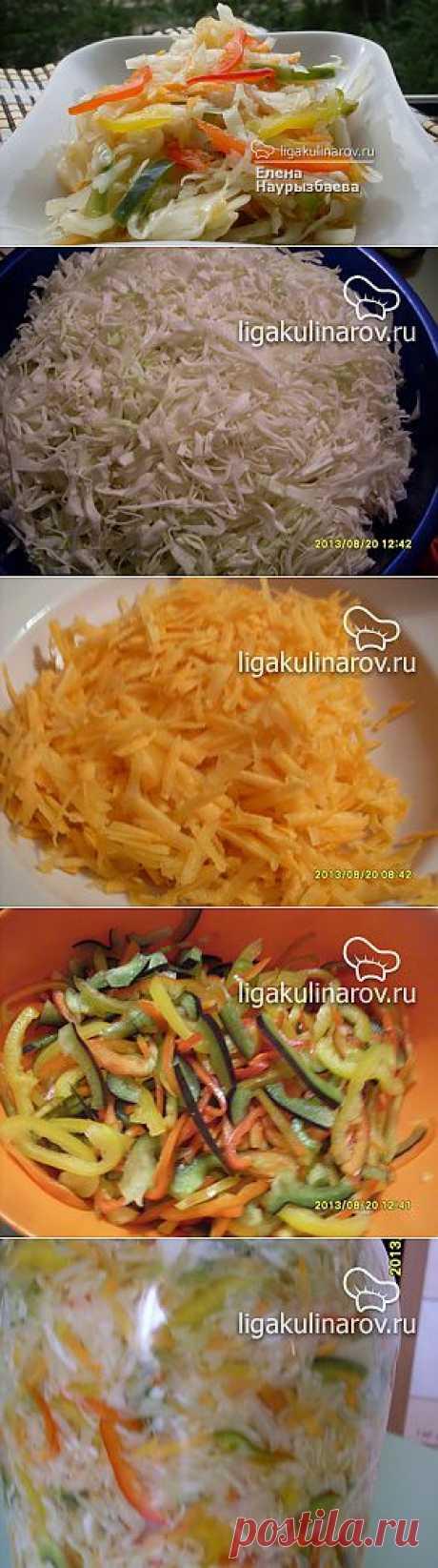 Капуста в маринаде – рецепт с фото от Лиги Кулинаров, пошаговый рецепт