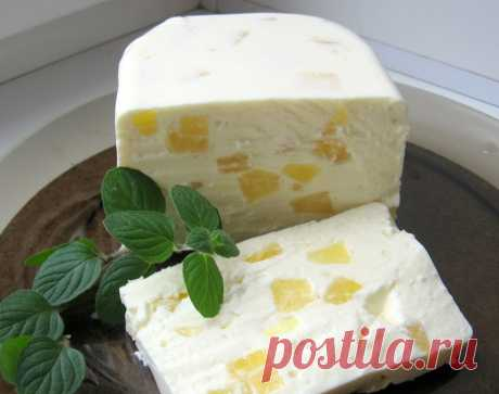 """Cottage cheese dessert of """"Старая Рига""""."""