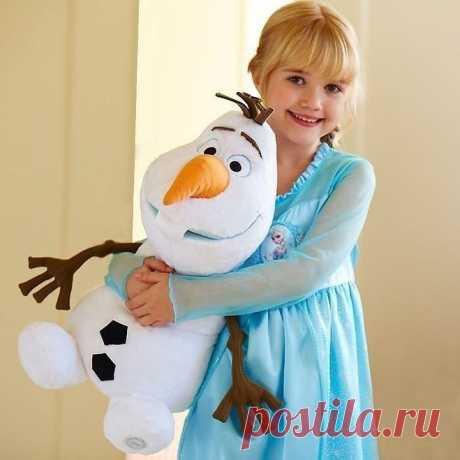 Шьем снегoвичка!