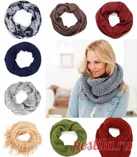 Как красиво завязать шарф на шее, с фото