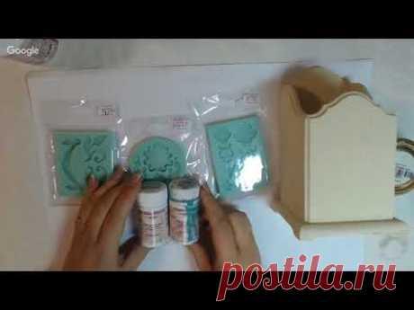 Наталья Каримова Имитация керамики со сколами