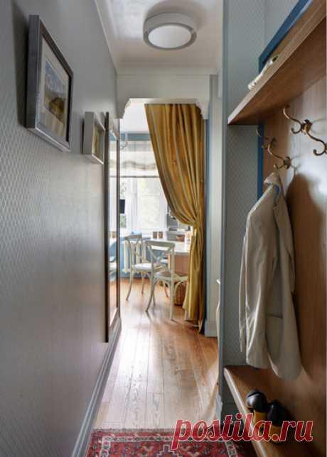 Малогабаритные прихожие: лайфхаки для ремонта прихожей в малогабаритной квартире
