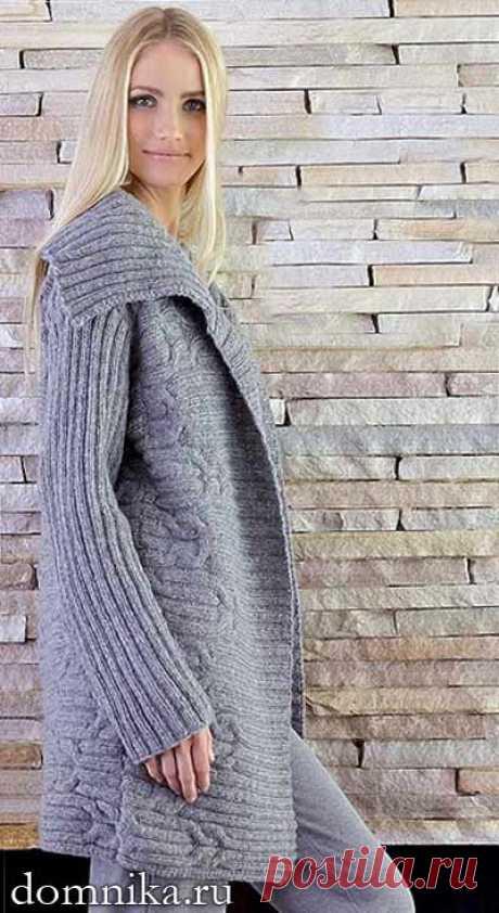 Вязание кардигана для полных женщин - 6 модных моделей на осень 2019