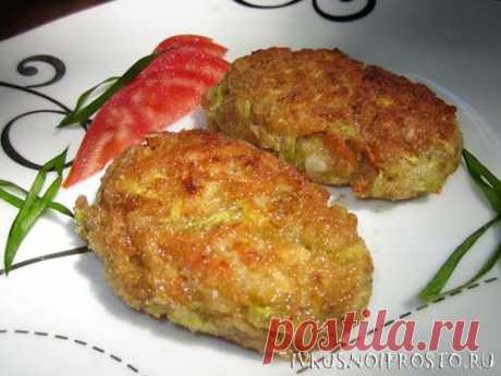 Котлеты из кабачков - пошаговый рецепт с фото   И вкусно и просто