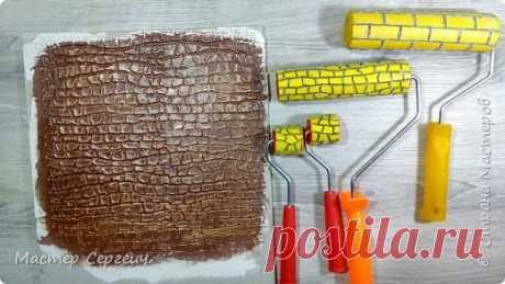 Как сделать декоративный валик для шпаклевки | Страна Мастеров