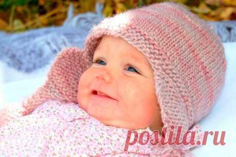 Чепчик спицами для новорожденного: схема и описание как связать для малыша   Все о рукоделии