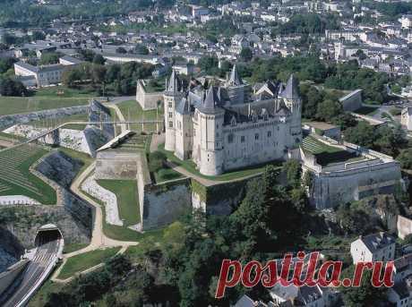 Замки Франции: Сомюр (Сhâteau de Saumur)Часть 1.История замка.Архитектура