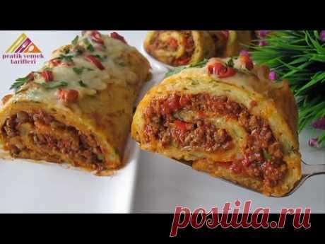 Картофель и немного мяса ❗ Очень просто и вкусно 😋 Быстрый рецепт! Семья его очень любит.
