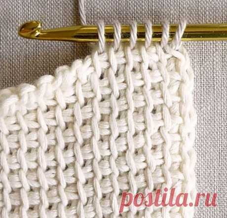 Тунисское вязание — лучшее спасение от холодов!