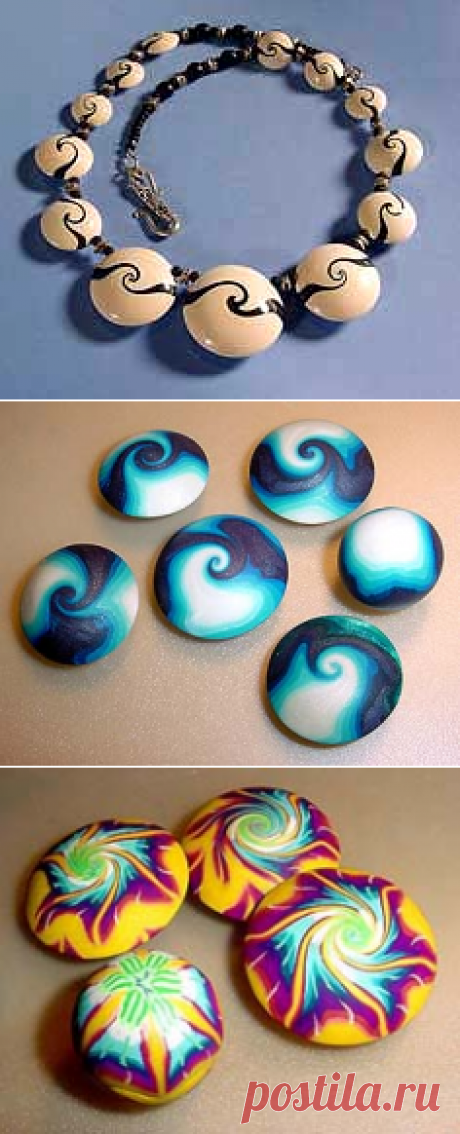 Desiree's HowTo make Lentil Swirled Beads