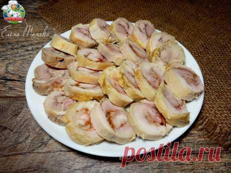 «Дешево и сердито»: очень вкусные колбаски из куриных четвертушек — нежные, пикантные и не капли жира | Кухня без границ Елены Танько | Яндекс Дзен