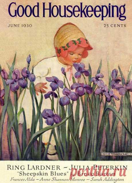 Образ детства в мире иллюстрации Джесси Уилкокс Смит