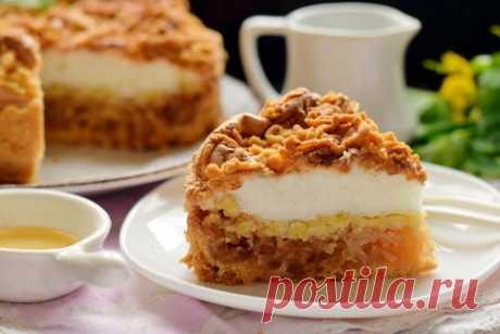 Польский яблочный пирог – безумно вкусный, с нашей шарлоткой не сравнится!