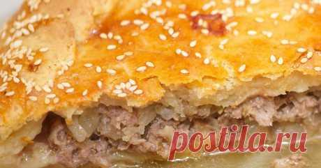 Традиционное блюдо крымских татар: пирог «Кубэтэ» — Готовим дома
