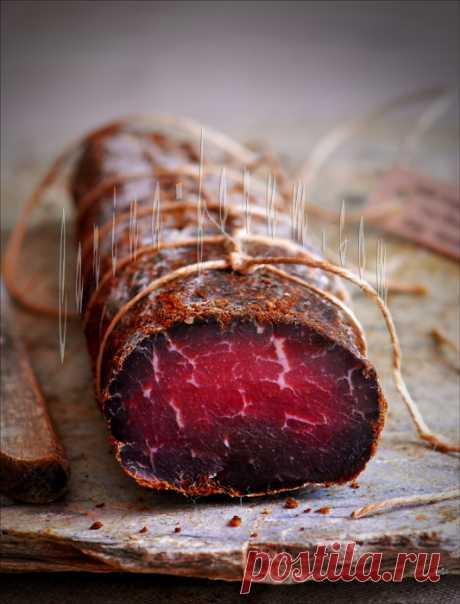 Бастурма быстрого приготовления (Сыровяленая говядина) - от Карины