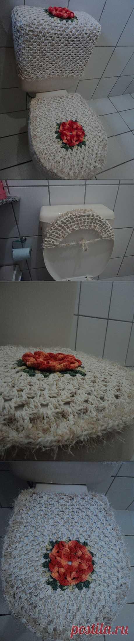 Создаем уют в туалетной комнате.