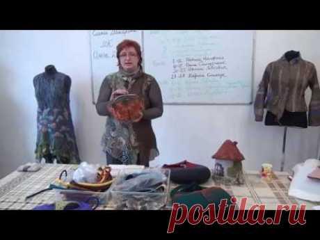 Ольга Демьянова на Посиделках в Шкатулочке