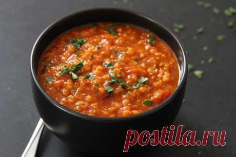 Как приготовить суп с чечевицей и томатами :: Кулинарные рецепты
