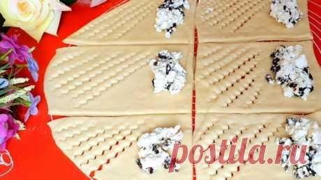 Воздушные творожные булочки с изюмом