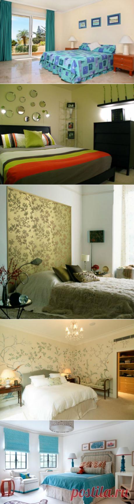 Какой цвет обоев для спальни выбрать?