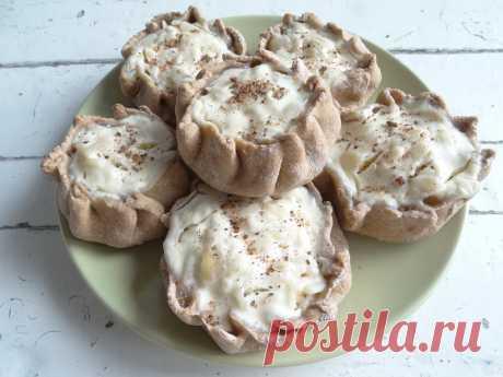 Мои «Карельские калитки» - рецепт с сыром.