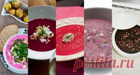 Шесть рецептов свекольника – «Еда»