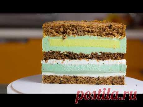 ТОРТ ДЛЯ НАСТОЯЩИХ ГУРМАНОВ! Рецепт экзотического торта. Торт с мандаринами, авокадо и лимонном.