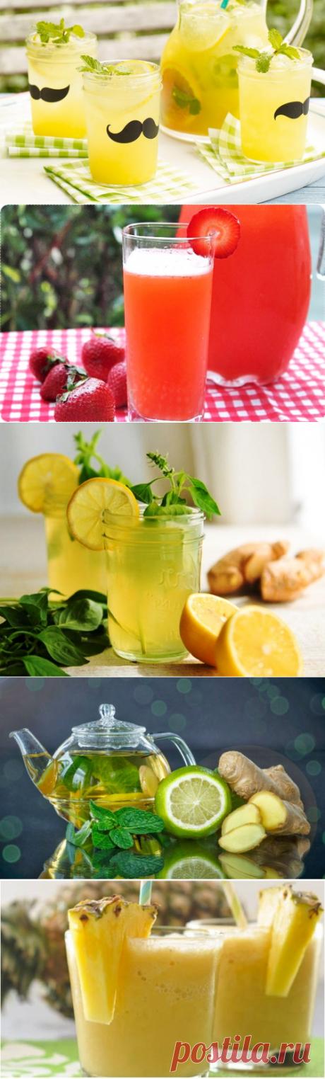 Pецепты летних освежающих напитков