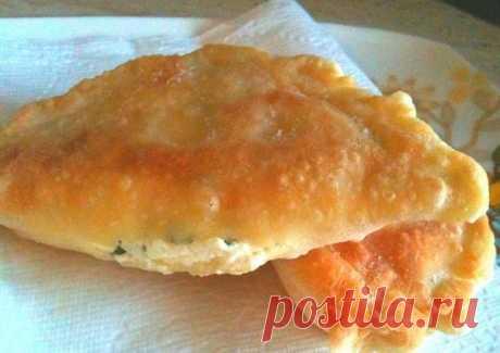 Хрустящие пирожки с сыром — «Минутка». Безумно вкусно!