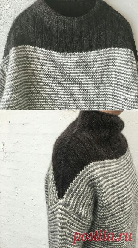 Японский свитер diy.