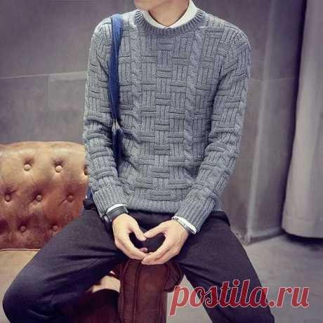Эффектный узор для свитеров