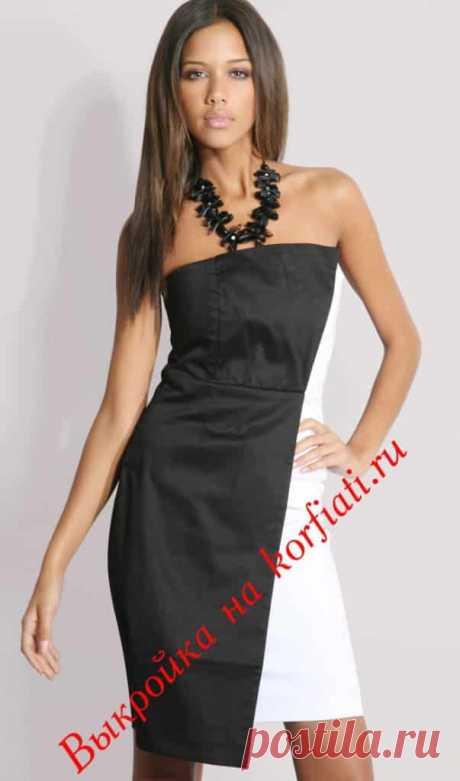 Шикарное платье за 2 часа - выкройка от А. Корфиати