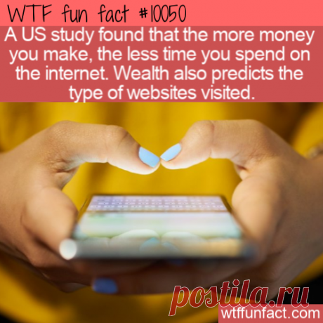 WTF Fun Fact – Wealth and Internet Use – Top Best Celebrity Blogs