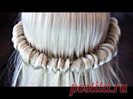 "Hairstyle ""Waterfall"" - Boho Style | Hairstyles by REM | © Lena Rogovaya"