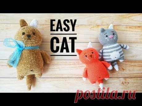Мастер класс Котик Изи/ Easy Cat Pattern