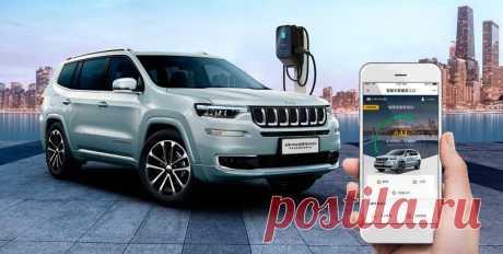 Гибридный кроссовер Jeep Commander PHEV 2020