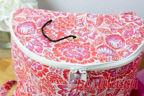 Sew a Yarn Project Bag - Бесплатный шаблон для шитья своими руками - SewCanShe | Бесплатные швейные выкройки и учебные пособия