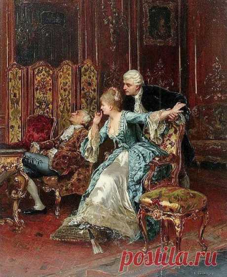 Художник Rudolf Ernst (1854 – 1932). Мастер восточных сюжетов