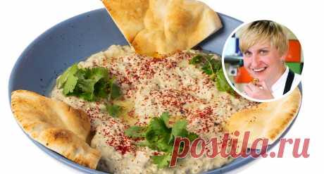 Как приготовить хацилим  Шеф-повар Катя Плотникова представляет израильский паштет из баклажанов