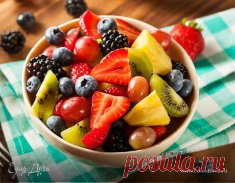 Летние фруктовые салаты: рецепты