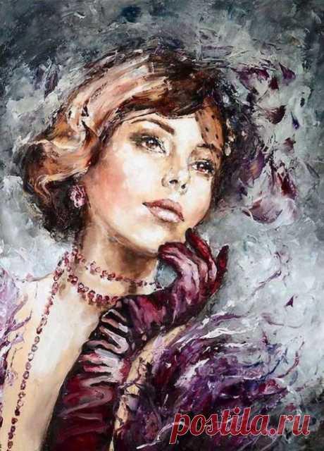Женщина... Небесное созданье. Воплощенье сказочной мечты
