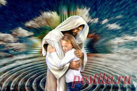 Молитва матери к Иисусу Христу о защите от бед, целомудрии и благочестии детей на многие лета   Фейерверк жизни   Яндекс Дзен