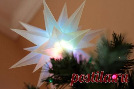 Los juguetes insólitos del árbol de Noel imprimidos sobre la 3D-impresora – la Novedad – orgprint.com