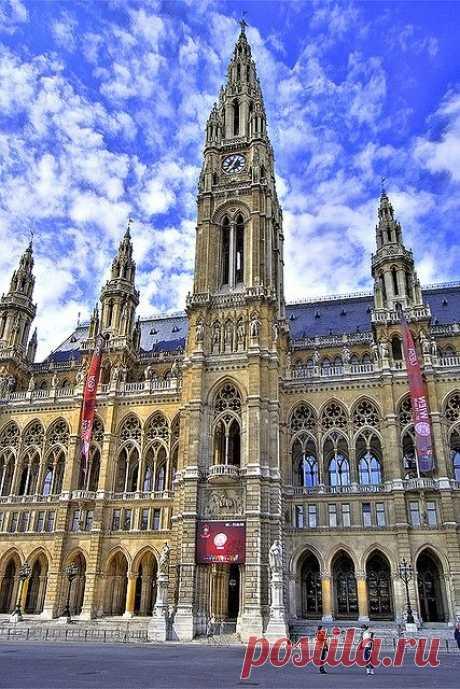 Vienna City Hall Фотографии от пользователя rpeschetz на flickr(cc)  |  Pinterest
