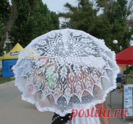 Шикарные вязаные зонтики из категории Интересные идеи – Вязаные идеи, идеи для вязания