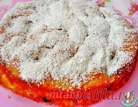 Пирог из слив – кулинарный рецепт