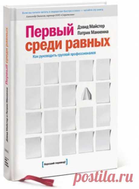 Книга для менеджеров проектов и всех, кому нужно руководить группами профессионалов