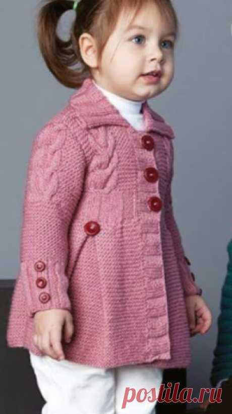 Вязание - модели и схемы: Вязаные кардиганчики для маленьких принцесс - идеи