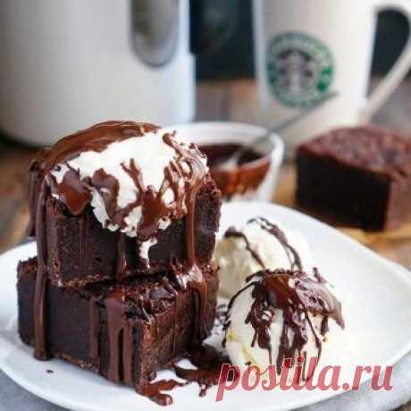 Очень шоколадный брауни Бомбический рецепт для всех любителей шоколада!